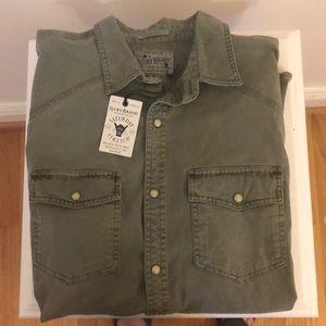 NWT Lucky Brand Saturday Stretch shirt